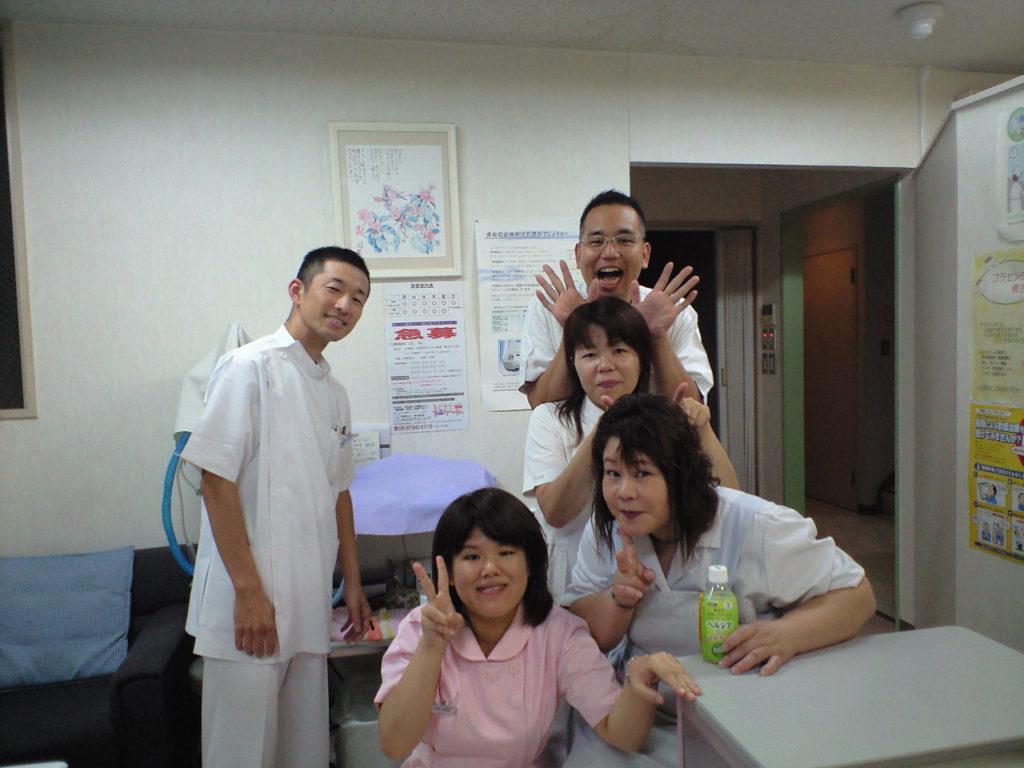 中島病院勤務時代の写真